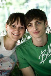 Katharina Egarter und Christoph Schury