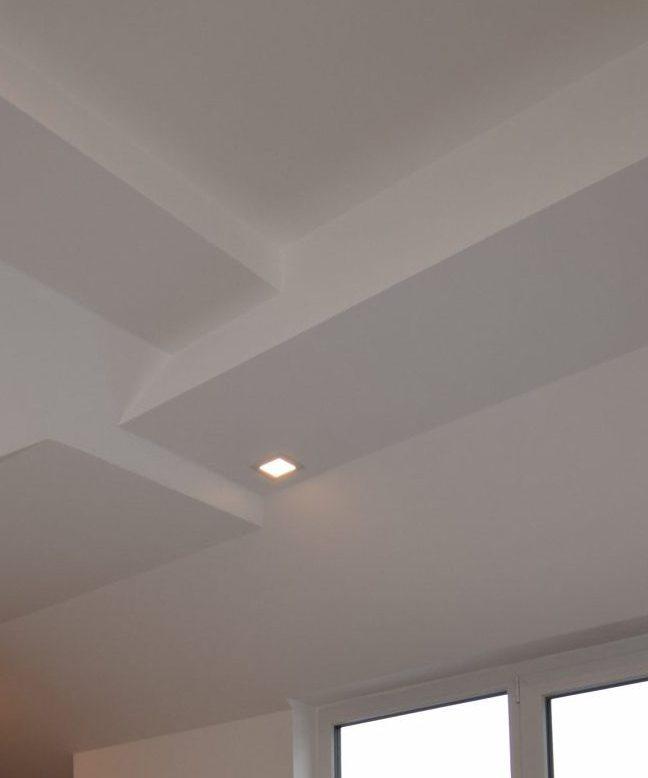abgehängte Decke Dachboden