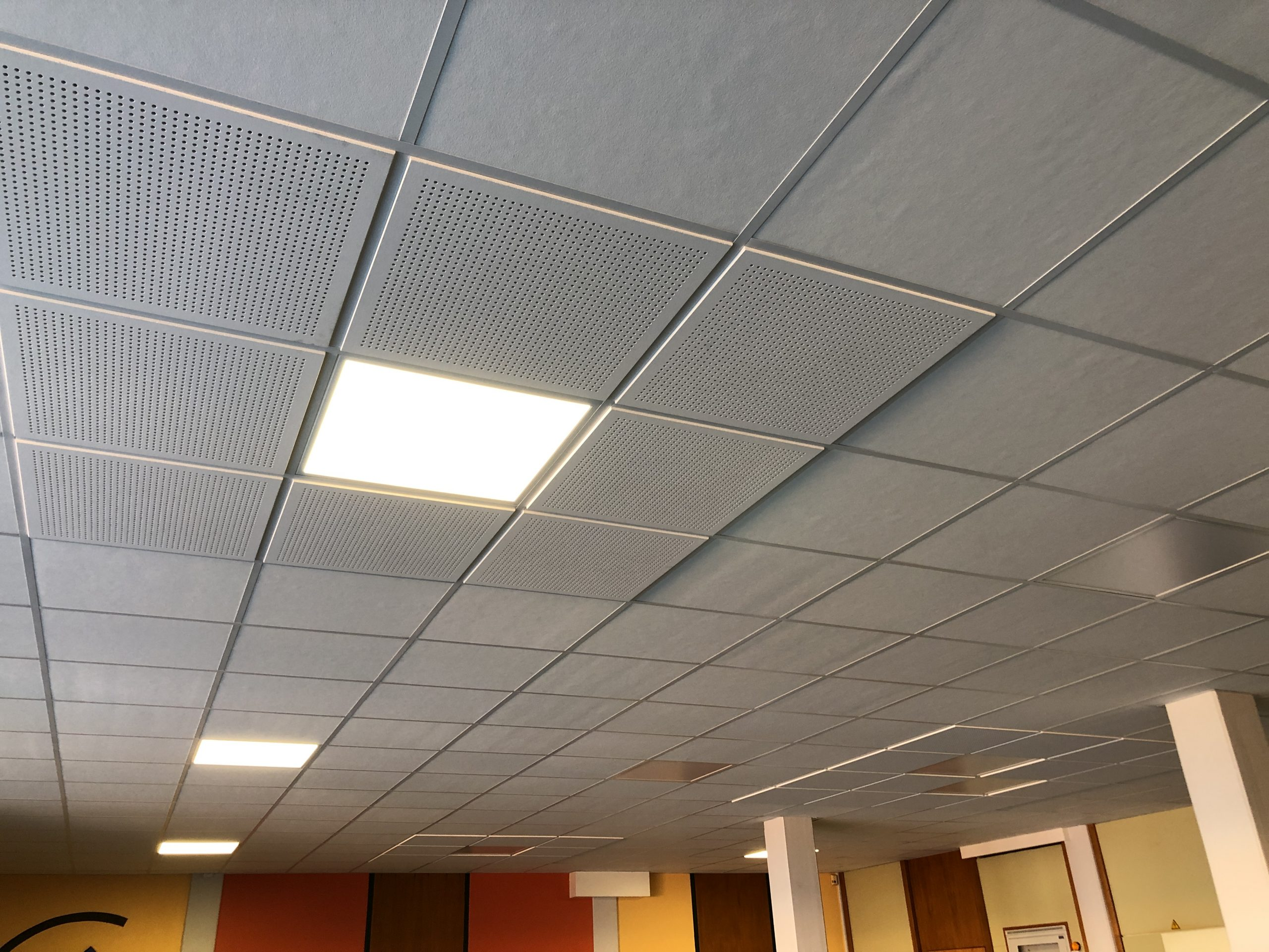 Akustikdecke Decken LED