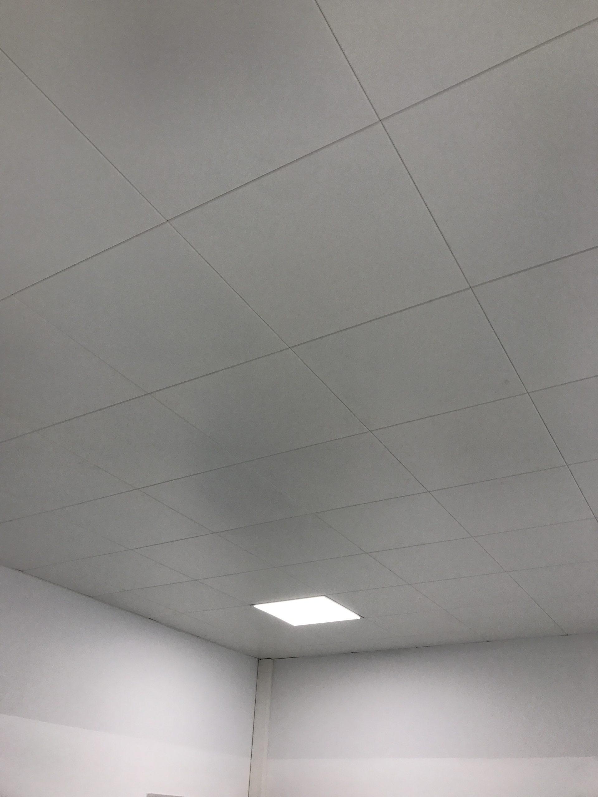 Blechdecke mit LED SPOT
