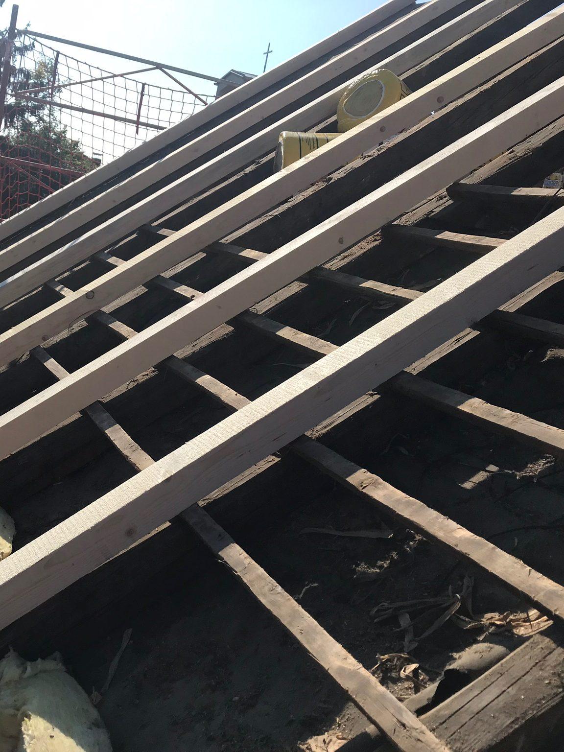 Dachkonstruktion verstärken