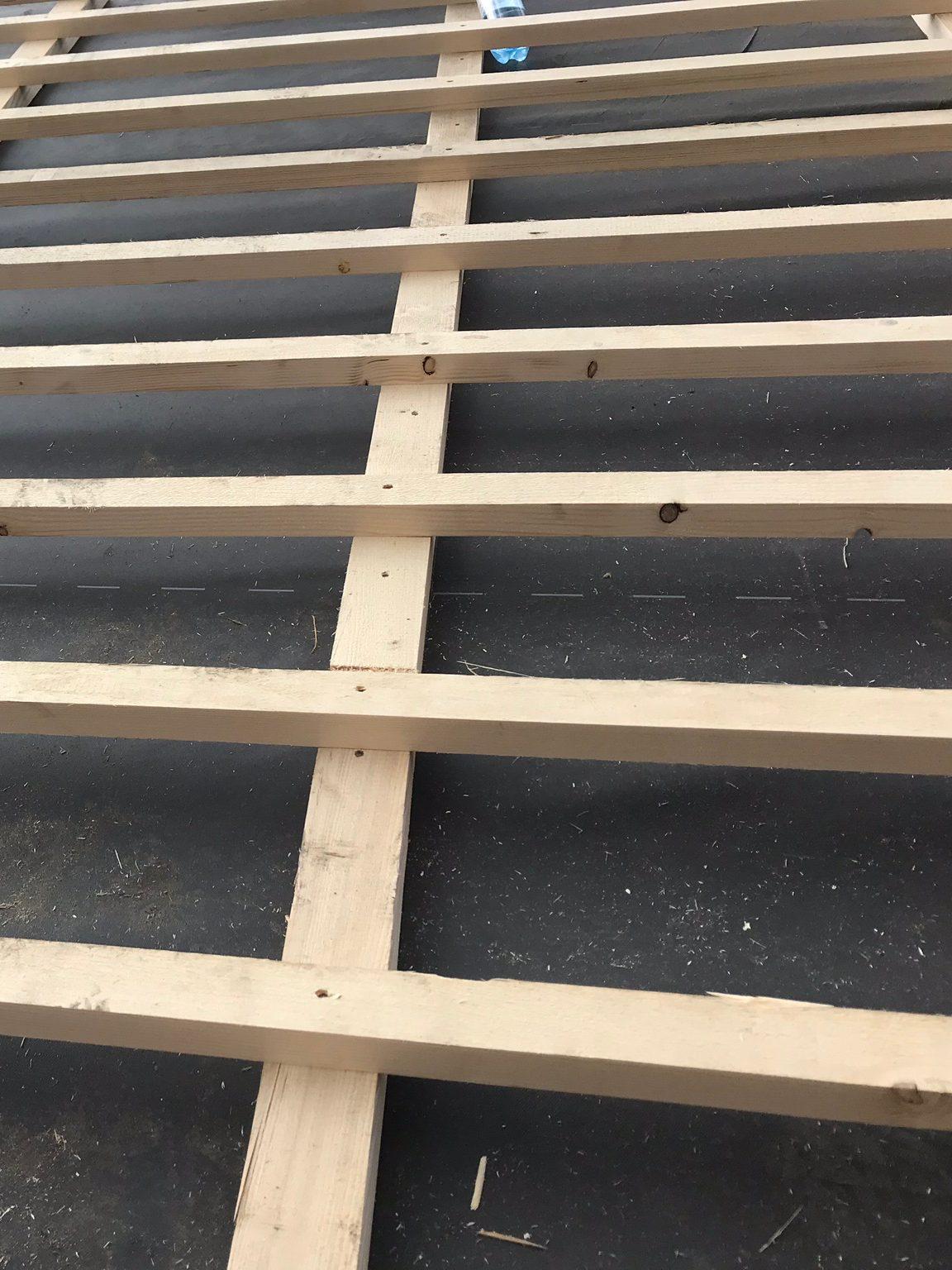 Kaltdach und Konterlattung