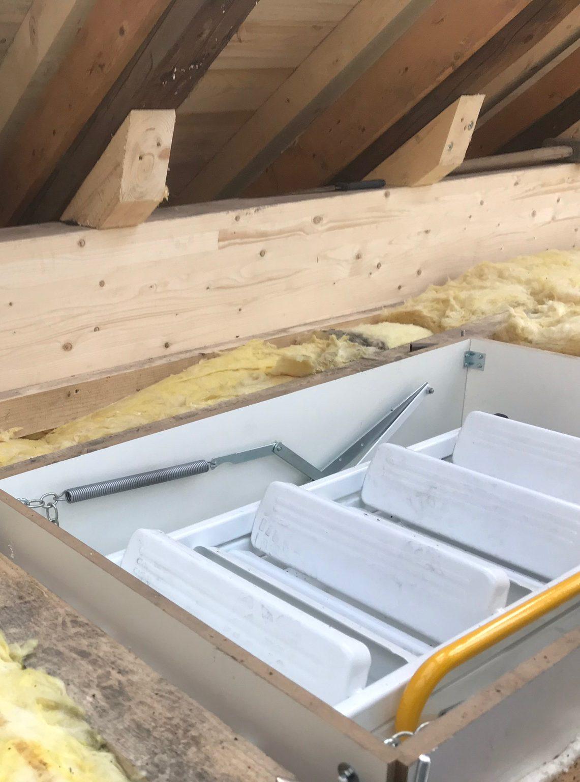 Dachbodentreppe