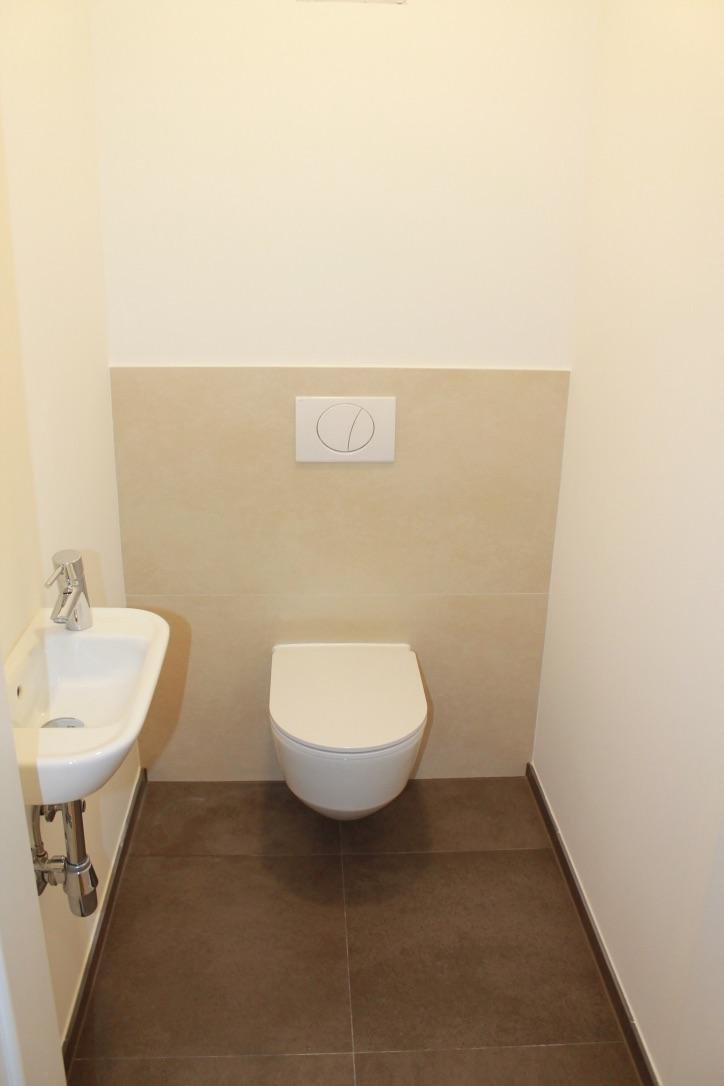 Installationswand WC
